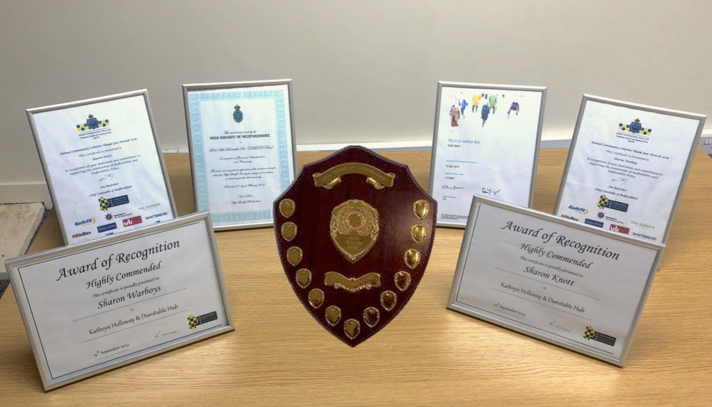 DLDD TRUST received the High Sheriff of Bedfordshire Award in recognition of Great Valuable services to the Community in enhancing the life of the community.
